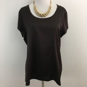 🆕 Vince Camuto | Dark Brown Top